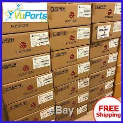 SEALED NEW Polycom HDX 8000 HD Codec & EagleEye III Cam ONE YEAR WARRANTY