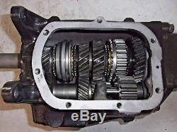 Saginaw 4 Speed Transmission, 2 85 1st Gear Ratio, Rebuilt