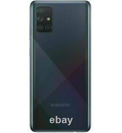 Samsung Galaxy A71 5G SM-A716 128GB Black (Unlocked) ONE YEAR WARRANTY