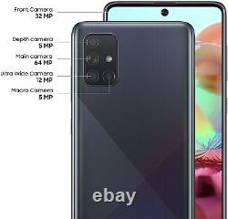 Samsung Galaxy A71 5G SM-A716U 128GB Black (T-Mobile) ONE YEAR WARRANTY