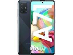Samsung Galaxy A71 5G SM-A716V 128GB Black (Unlocked) ONE YEAR WARRANTY