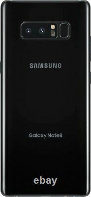 Samsung Galaxy Note8 SM-N950U 64GB Black (Unlocked) ONE YEAR WARRANTY