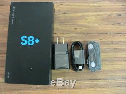 Samsung Galaxy S8+ SM-G955U 64GB -Arctic silver GSM UNLOCKED one year warranty