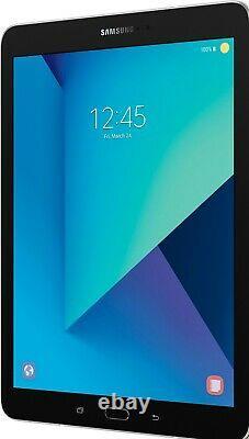 Samsung Galaxy Tablet S3 T820 Black Silver 32GB Wi-Fi PERFECT ONE YEAR WARRANTY