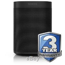 Sonos One in Black (Gen2) Amazon Alexa Built In 3 Year Warranty Smart Speaker