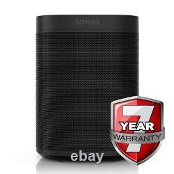 Sonos One in Black (Gen2) Amazon Alexa Built In 7 Year Warranty Smart Speaker