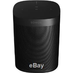 Sonos One in Black with Amazon Alexa Built In 3 Year Warranty Smart Speaker