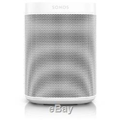 Sonos One in White with Amazon Alexa Built In 3 Year Warranty Smart Speaker