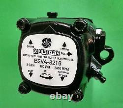 Suntec B2VA 8216 Oil Burner Pump ONE YEAR WARRANTY Beckett, Wayne 18341
