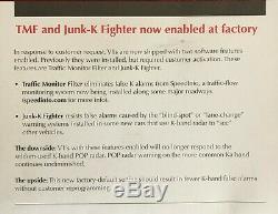 Valentine One 1 V1 Radar Detector LATEST Version w Junk-K 1 YEAR OEM WARRANTY