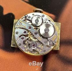 Vintage 1937 Men's Bulova 17Jewels American Made Engraved BZL One Year Warranty