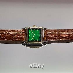 Vintage 1940s Gruen Very-Thin Swiss 17 Jewels, Serviced, One Year Warranty