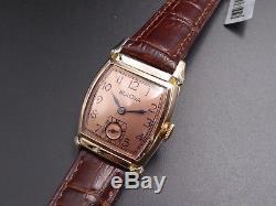 Vintage 1940s Men's Bulova Watch, USA Made 15 Jewels Restored One Year Warranty