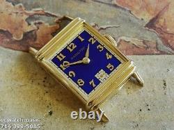 Vintage 1941 HAMILTON LESTER, Stunning Blue Dial, Serviced, One Year warranty