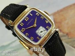 Vintage 1941 HAMILTON MARTIN, Stunning Purple Dial, Serviced, One Year warranty