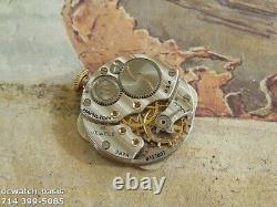 Vintage 1941 HAMILTON MARTIN, Stunning Silver Dial, Serviced, One Year warranty
