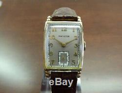 Vintage 1941 Hamilton Myron, USA Made Ca 980, 17J Serviced One Year Warranty