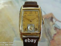 Vintage 1942 HAMILTON Alan, Stunning Champagne Dial, Serviced, One Year warranty