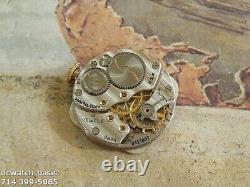 Vintage 1946 HAMILTON MARTIN, Stunning Silver Dial, Serviced, One Year warranty