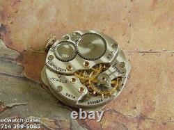 Vintage 1947 HAMILTON MARTIN, Stunning Brown Dial, Serviced, One Year warranty