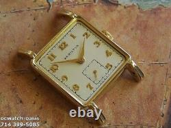 Vintage 1948 HAMILTON Eric, Stunning Silver Dial, Serviced, One Year warranty