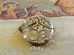 Vintage 1950 HAMILTON DEWITT, Stunning Silver Dial, Serviced, One Year warranty
