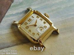 Vintage 1957 HAMILTON Cyril, Stunning Silver Dial, Serviced, One Year warranty