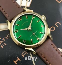 Vintage 1957 Mans Hamilton PAXTON Hand Wind Fully Serviced With One Year WARRANTY