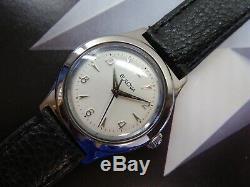 Vintage 1957 Men's Bulova Watch, Swiss Made 17 Jewels Restored One Year Warranty