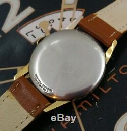 Vintage 1960s Mans Hamilton Fully Serviced Ready To Wear With One Year WARRANTY
