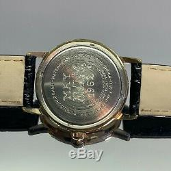 Vintage 1962 Gent's Elgin Sportsman French Made Serviced One Year Warranty