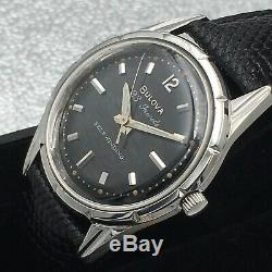 Vintage 1963 Men's Bulova, USA Made 23 Jewels Automatic One Year Warranty