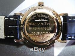 Vintage Men's Hamilton Masterpiece 17 Jewels, Serviced One Year warranty
