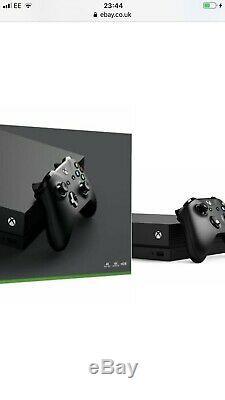 Xbox One X New 1 Year Warranty 1TB Quick delivery VerySlightBoxDamage